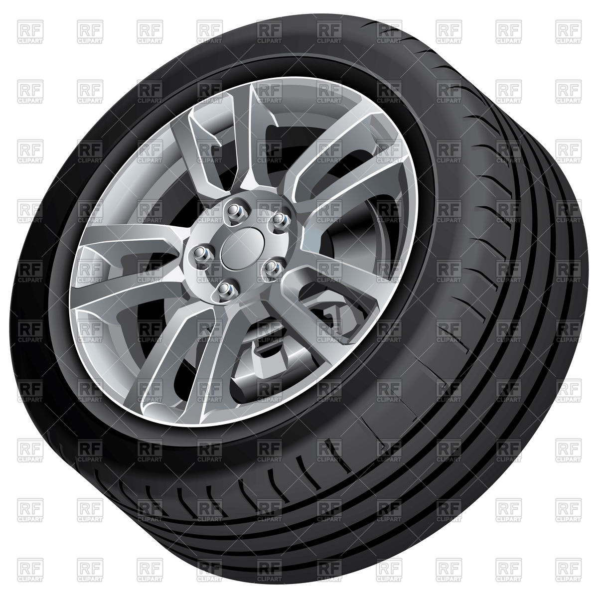 Wheel clipart vector. Alloy free cliparts download