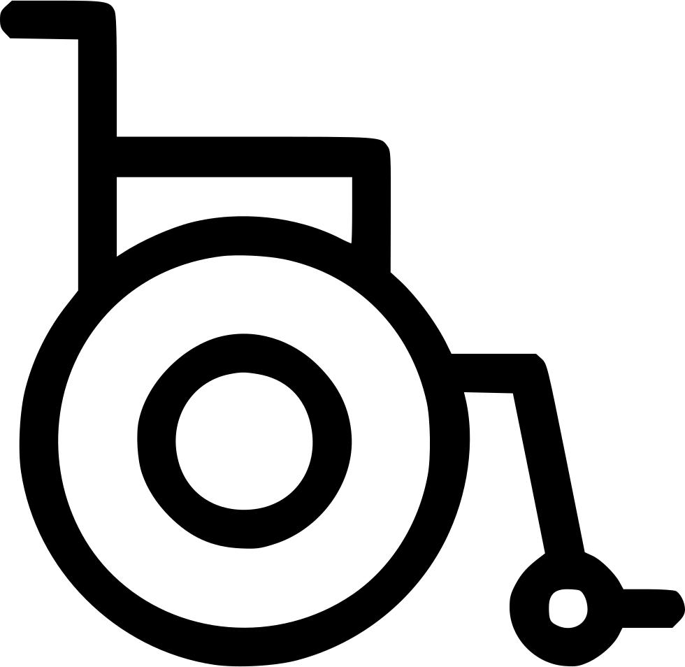 Wheel clipart wheelchair. Chair handicap physically challenged