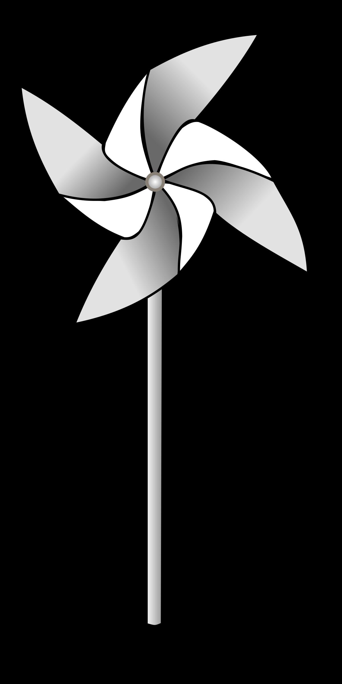 Pinwheel. Wheel clipart windmill