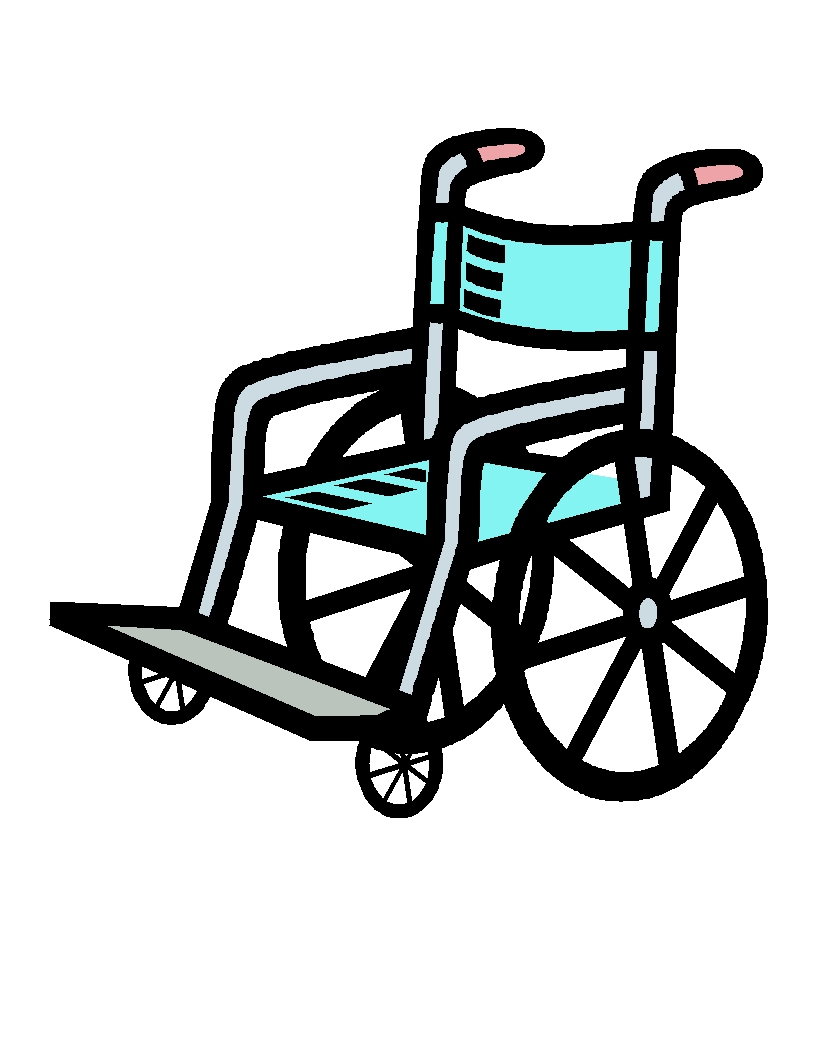 Wheelchair clipart. Awesome design digital collection