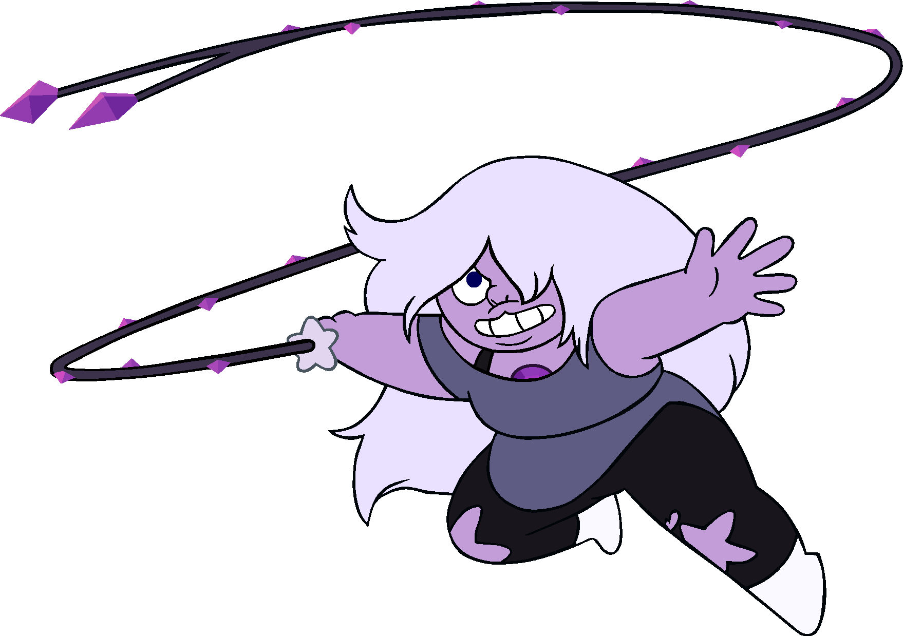 Image amethyst and png. Whip clipart comic