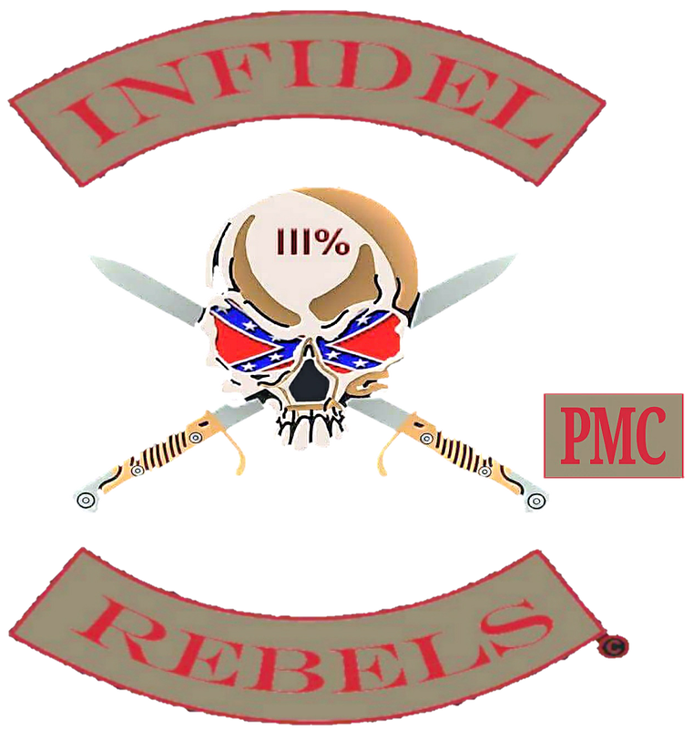 Whip clipart infidel. Rebels patriot motorcycle club