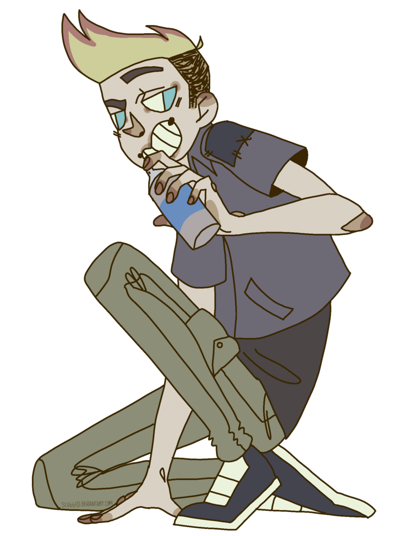 By slugg o on. Whip clipart johnny test