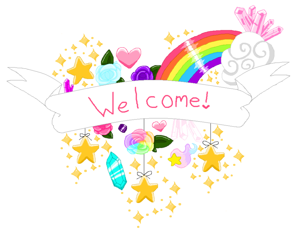 Welcome banner by starrymiik. Whip clipart pixel art