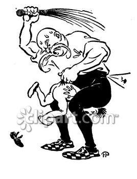 Spanking and illustration com. Whip clipart punishment