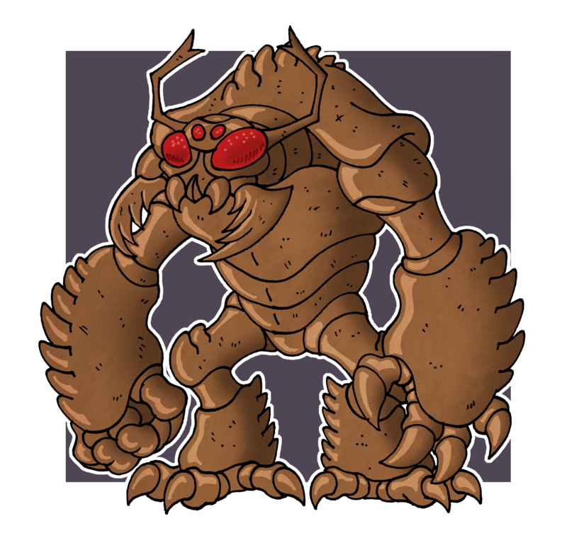Umber hulk by mcslackerton. Whip clipart scourge