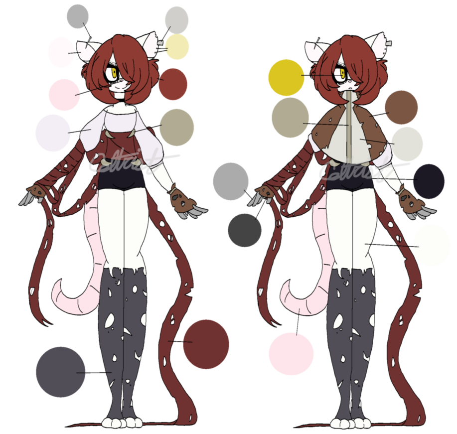 Vivian ref by celtrist. Whip clipart scourge