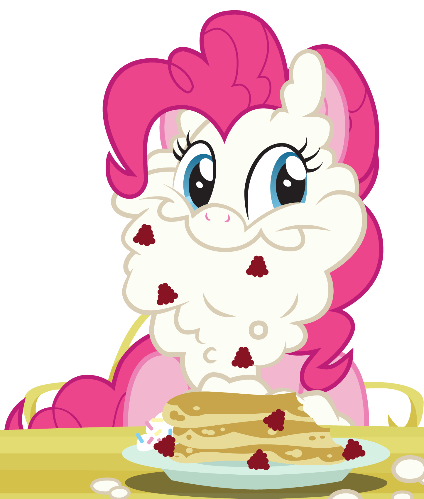 Pinkie s whipped cream. Whip clipart vector
