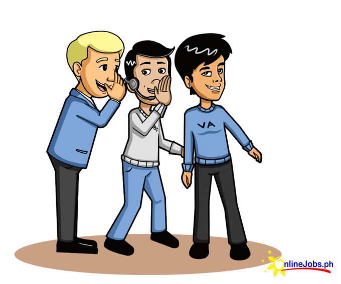 About improving communication with. Whisper clipart group gossip