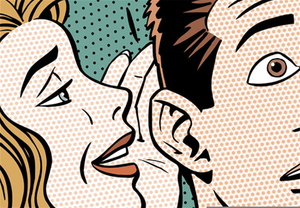 Whisper clipart in ear. Whispering free images at