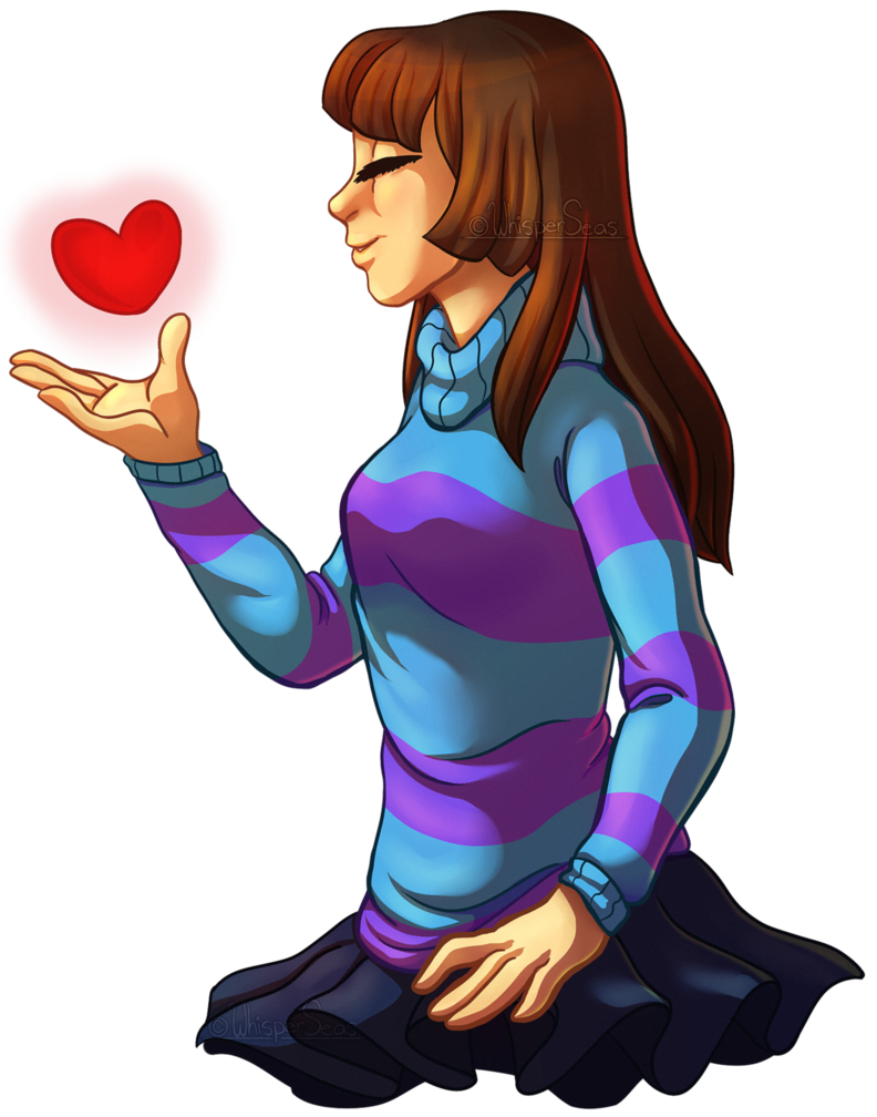 Whisper clipart last person. Rq frisk by whisperseas