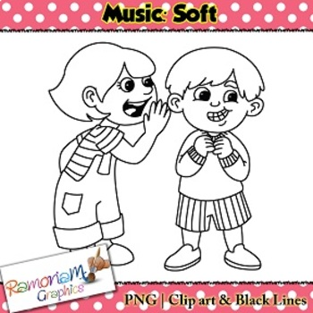 Whisper clipart soft voice. Sound png black and