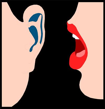 Ear uploadclip art png. Whisper clipart transparent