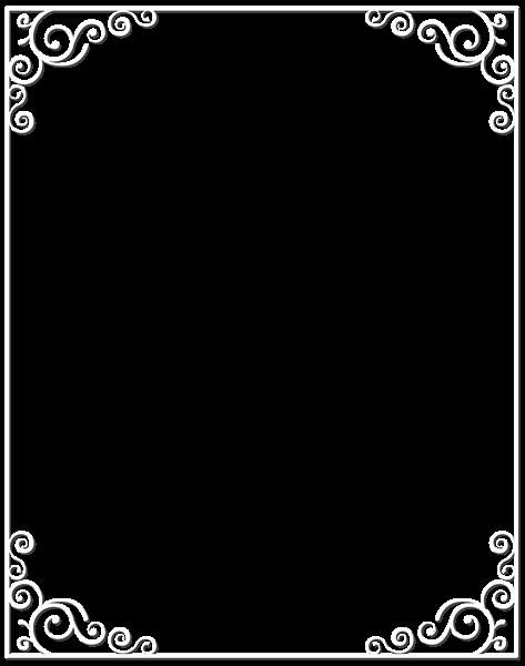 White border png. Frame clip art image