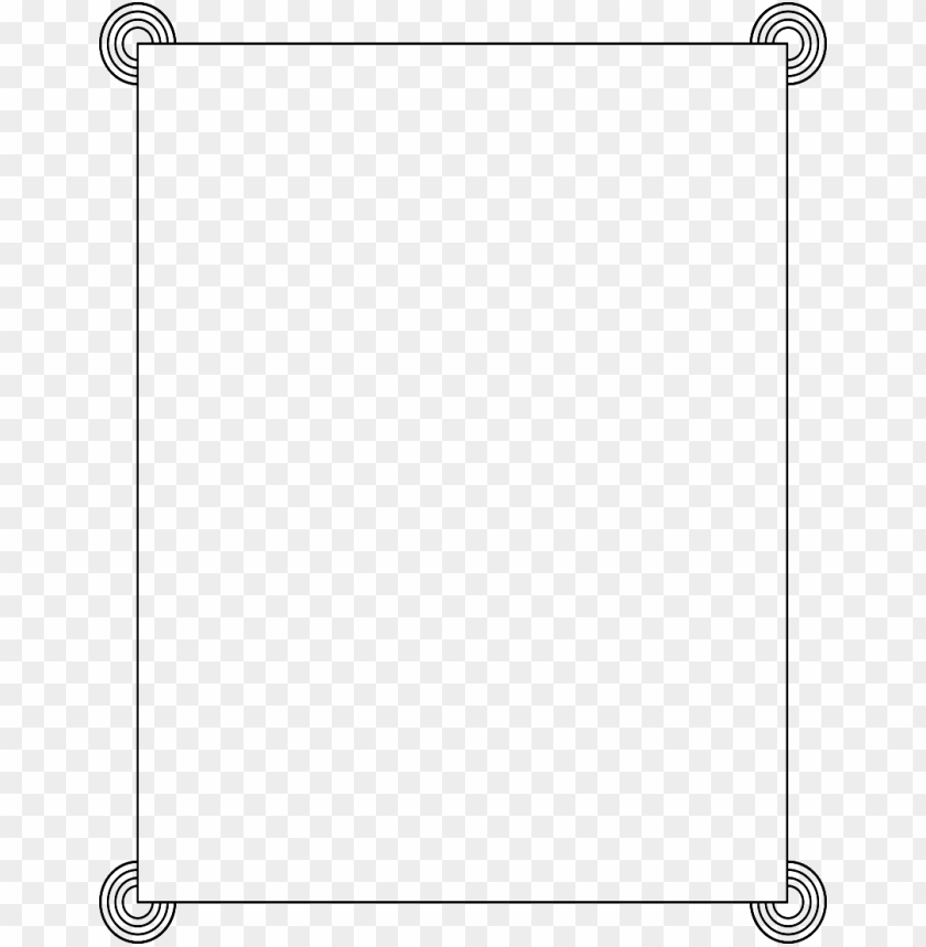 White border png transparency. Frame free images toppng