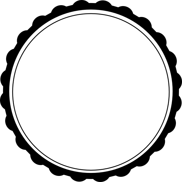 White circle frame png. Clip art at clker