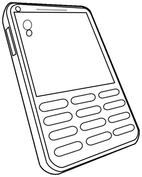 White clipart calculator. Clipartist net clip art