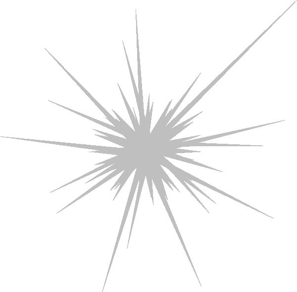 Gray no stars clip. White clipart firework