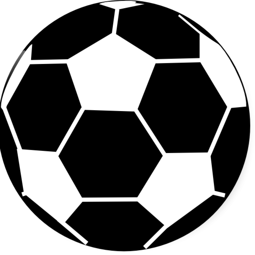 White clipart football. Black and hand hatenylo