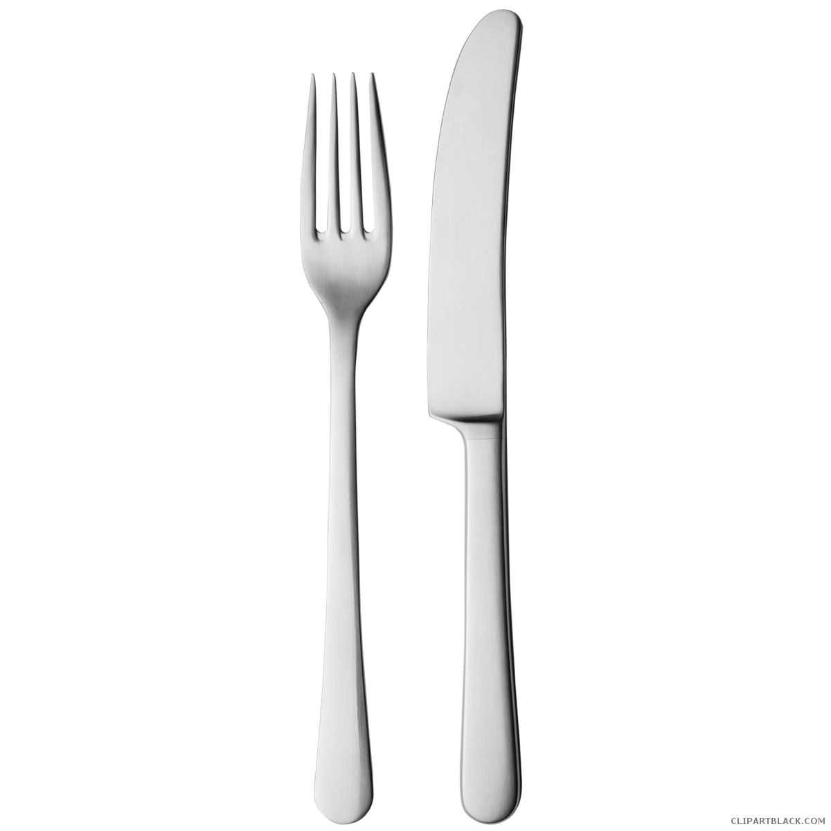 White clipart knife. Fork and clipartblack com