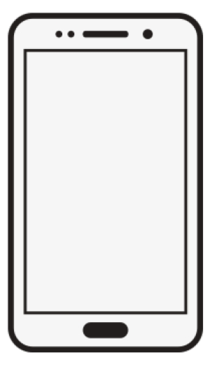 White clipart mobile. Phone samsung galaxy cell