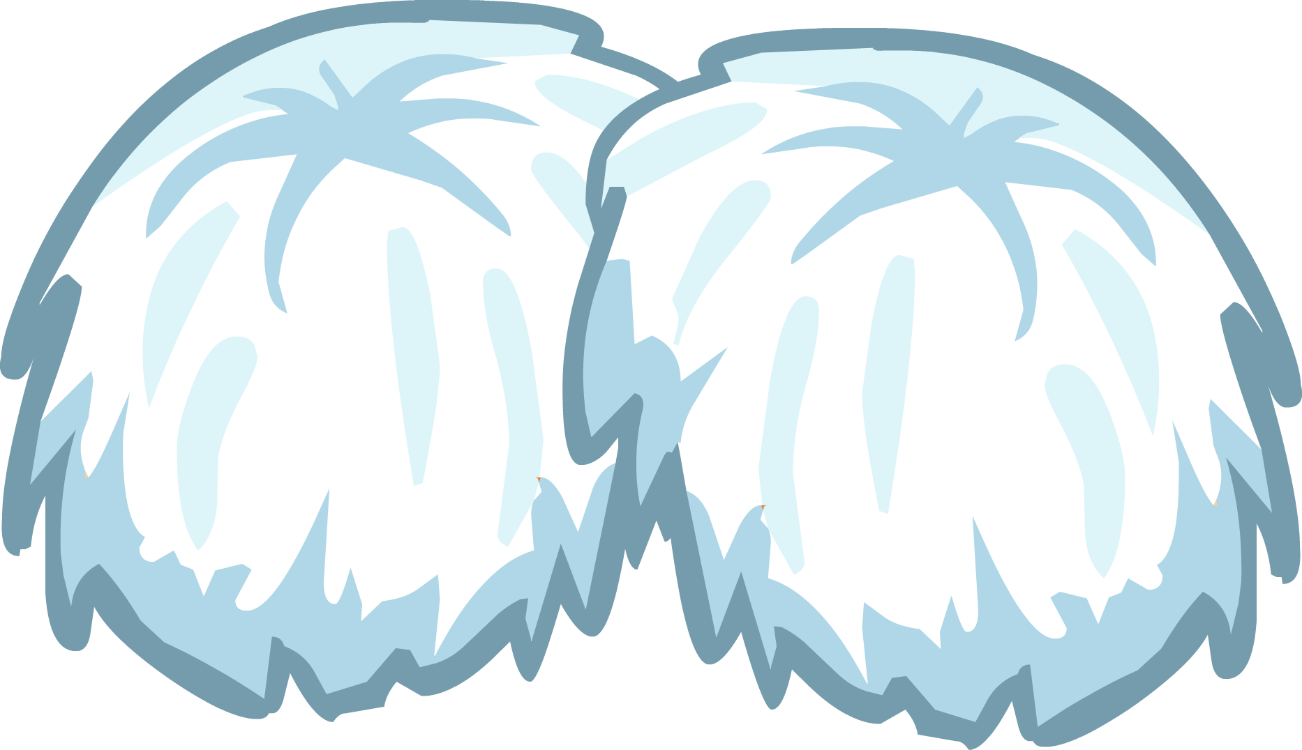 White clipart pom pom. Pompoms club penguin wiki