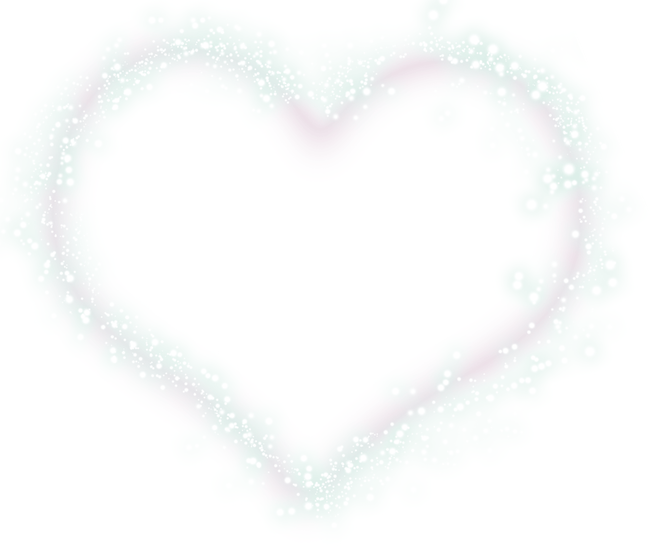 White hearts png. Love heart transprent free