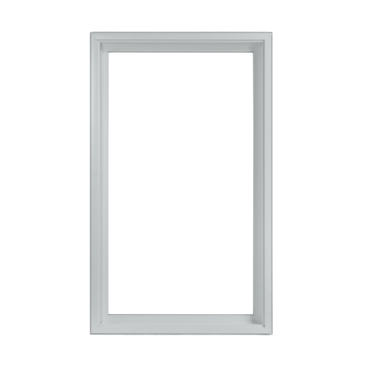 Picture windows wallside clip. White window frame png