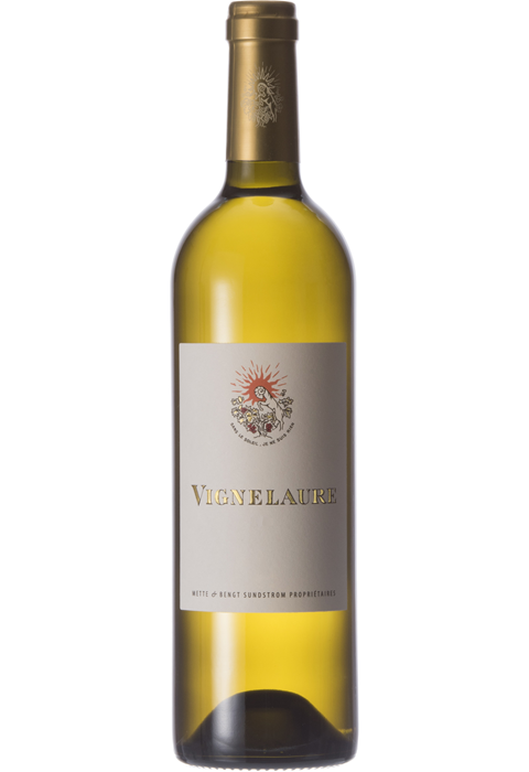 White wine bottle png. Vignelaure wines chateau cvblancsansmillesimepng