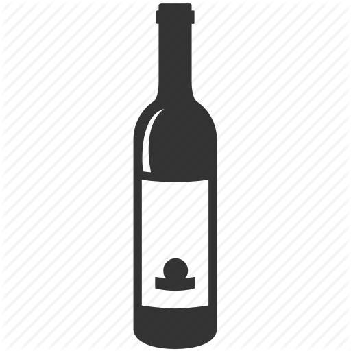 I love you by. White wine bottle png