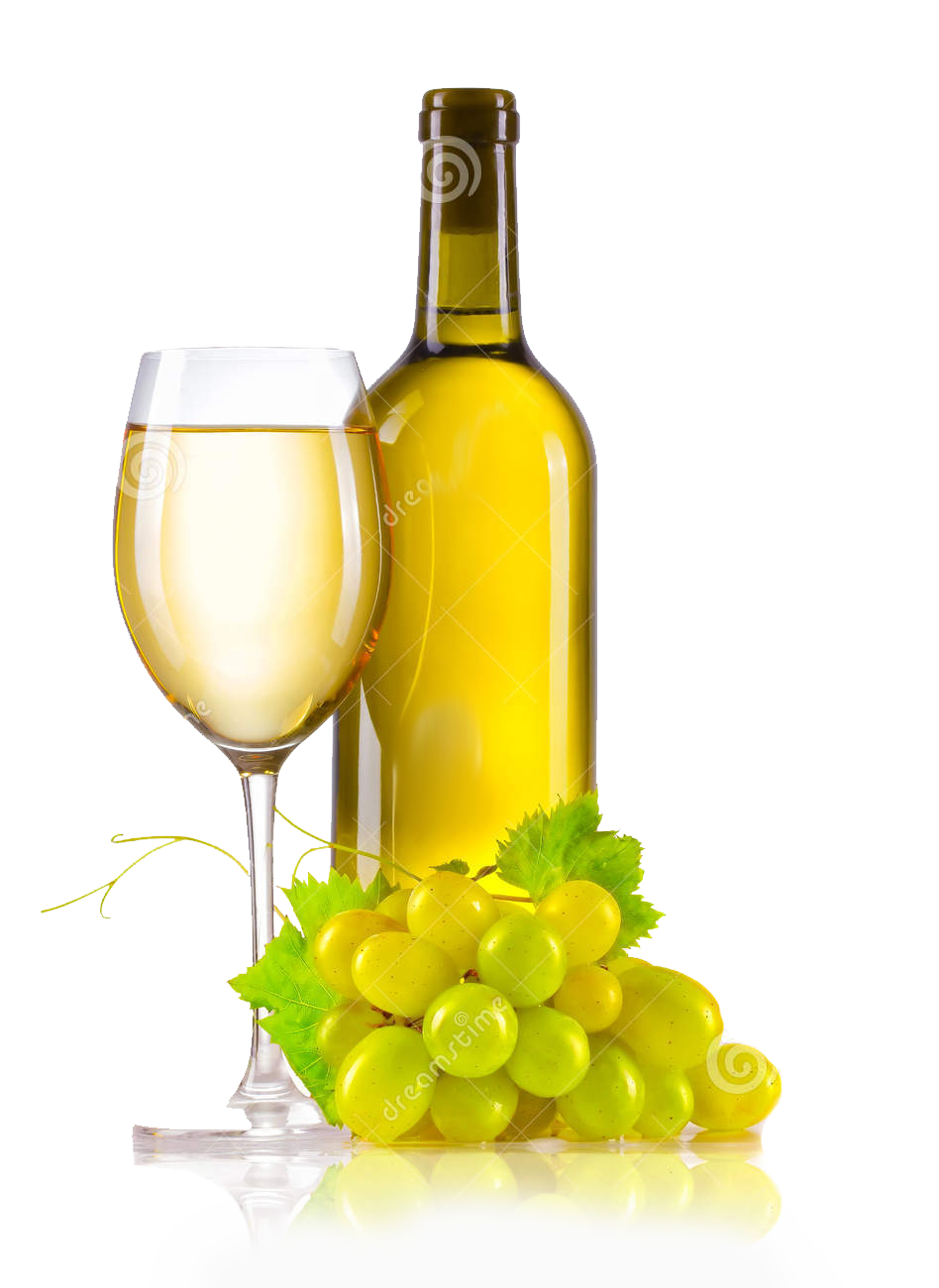 White wine bottle png. Red common grape vine