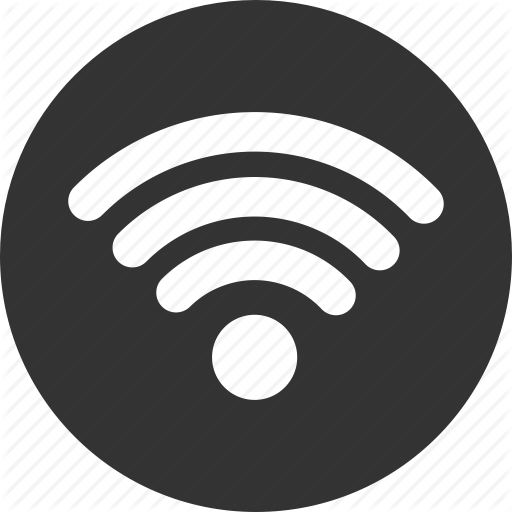 Social messaging ui black. Wifi icon png