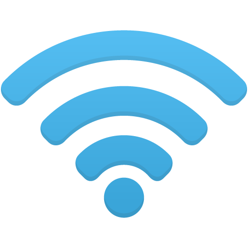 Wifi icon png. Blue image purepng free