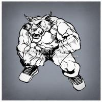 Wildcat clipart. On rivalart com boxer