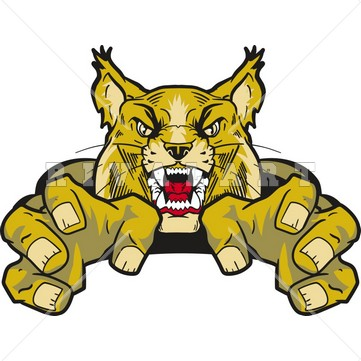 Free download best on. Wildcat clipart animated