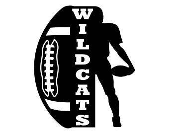 Wildcats etsy . Wildcat clipart bcc