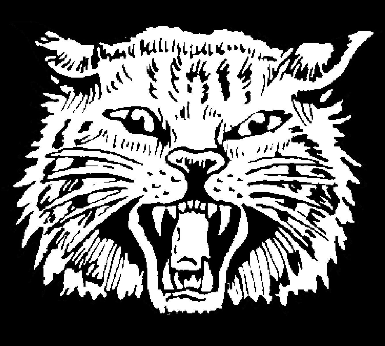 The alpena wildcats scorestream. Wildcat clipart black and white
