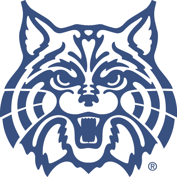 Wednesday letter of the. Wildcat clipart blue