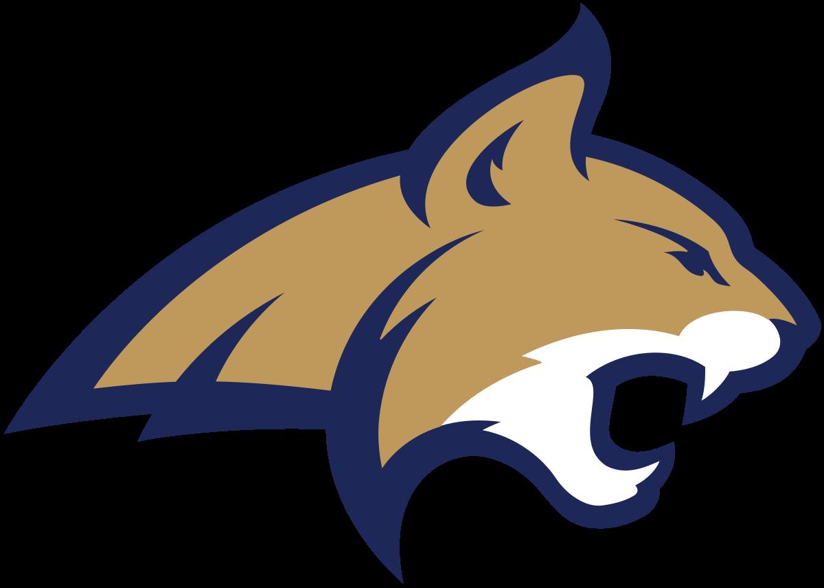 Wildcat clipart bobcat football. Montana state bobcats wikipedia