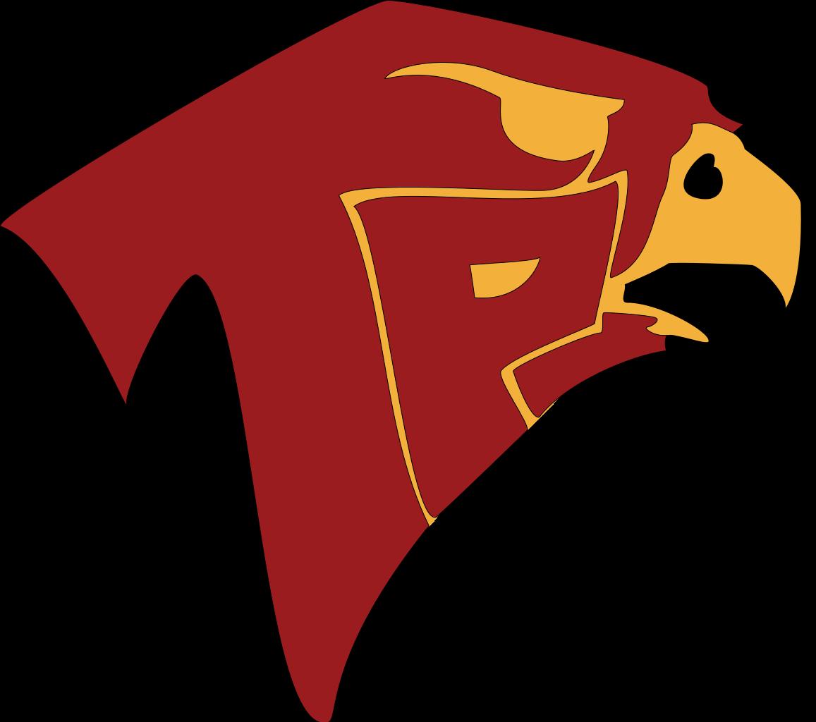 Wildcat clipart falcon. White high school football