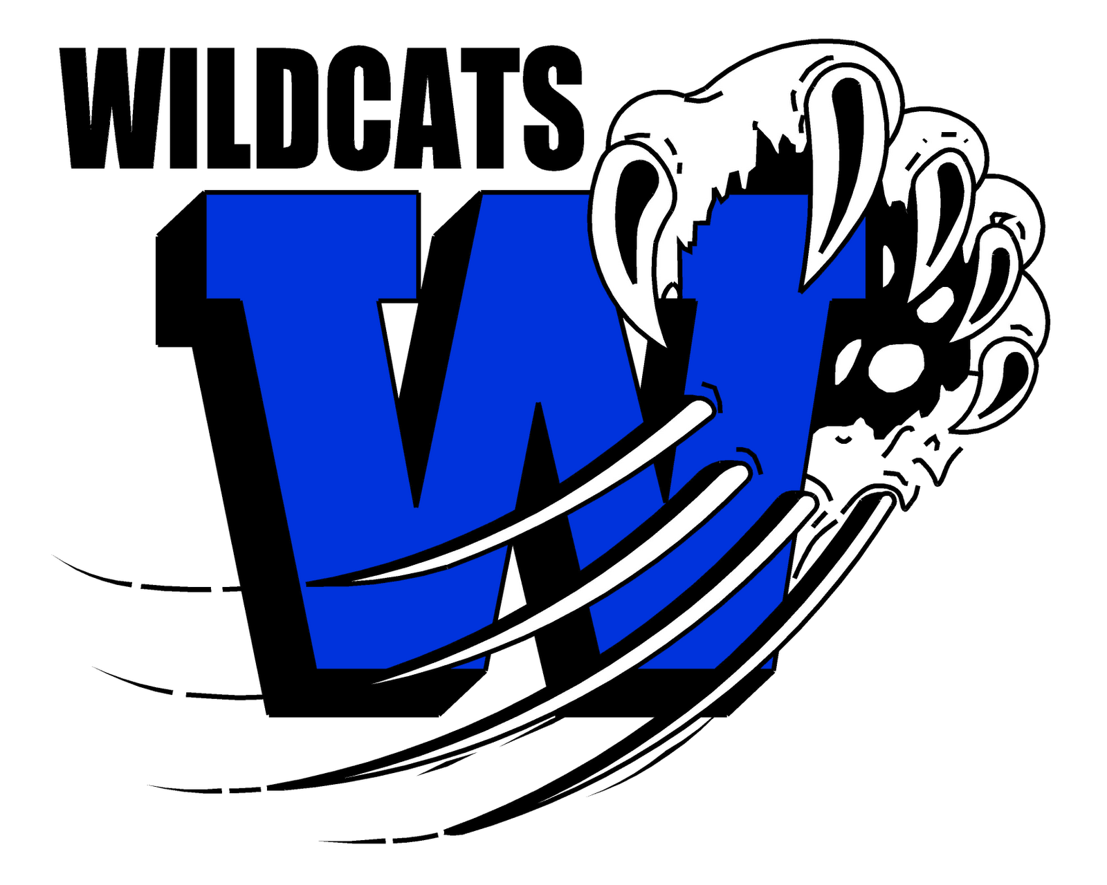 Logo free image. Wildcat clipart file