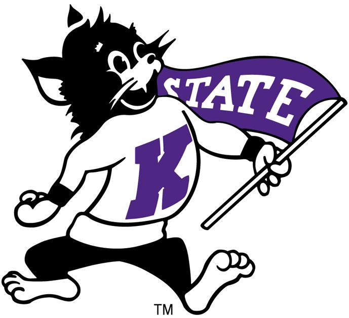 Kansas state wildcats primary. Wildcat clipart kstate