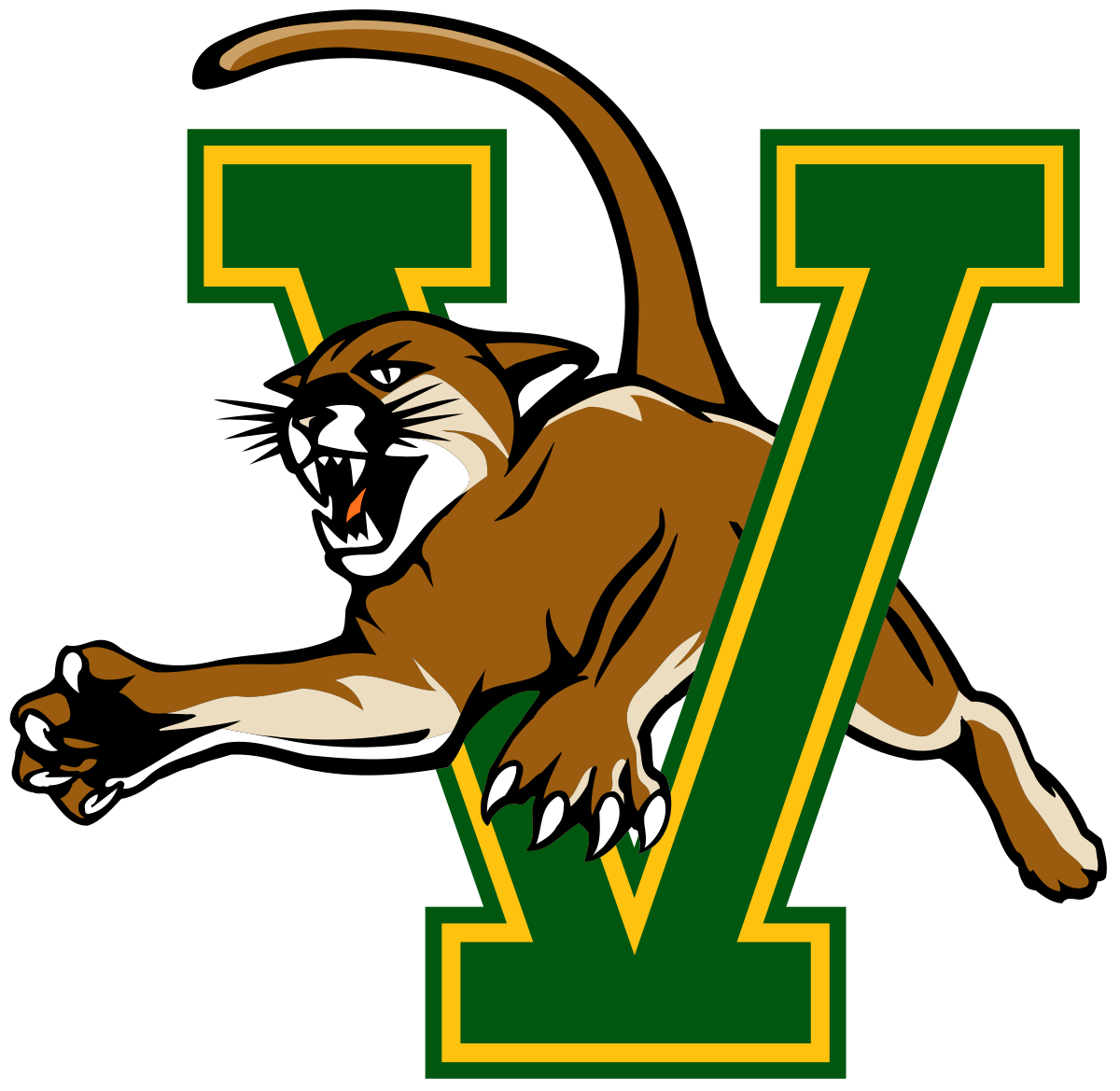Vermont catamounts wikipedia . Wildcat clipart monster