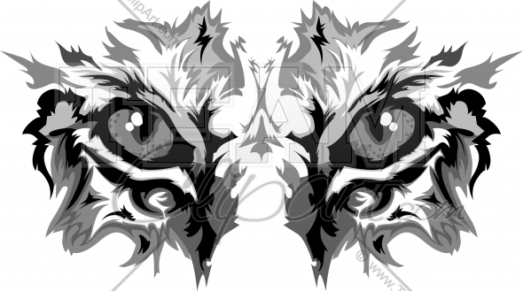 Wildcat clipart panther eye. Free download clip art