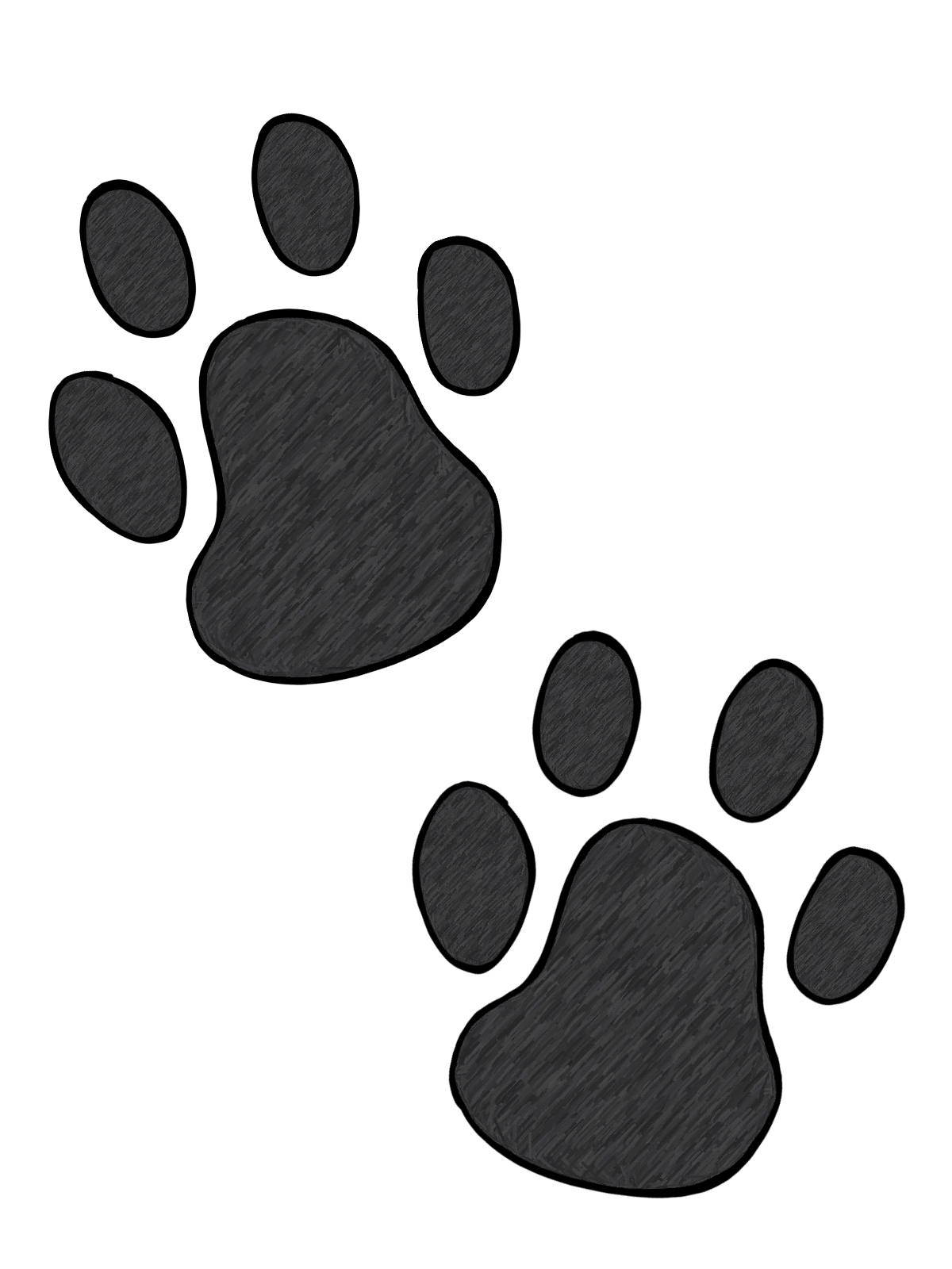 Wildcat clipart paw print. Cliparts zone wildcats on
