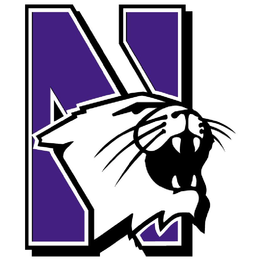 Northwestern university daytripper consistently. Wildcat clipart school spirit