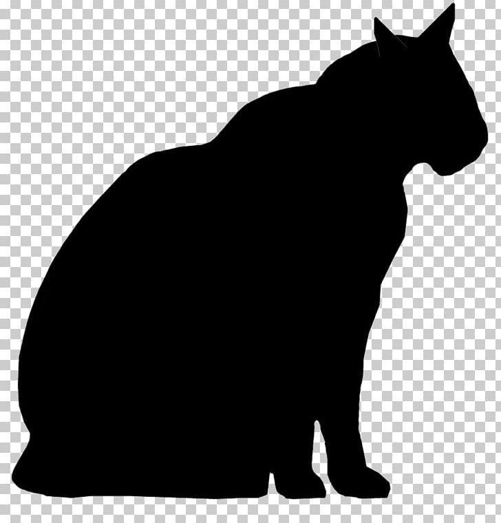 Whiskers black cat png. Wildcat clipart silhouette