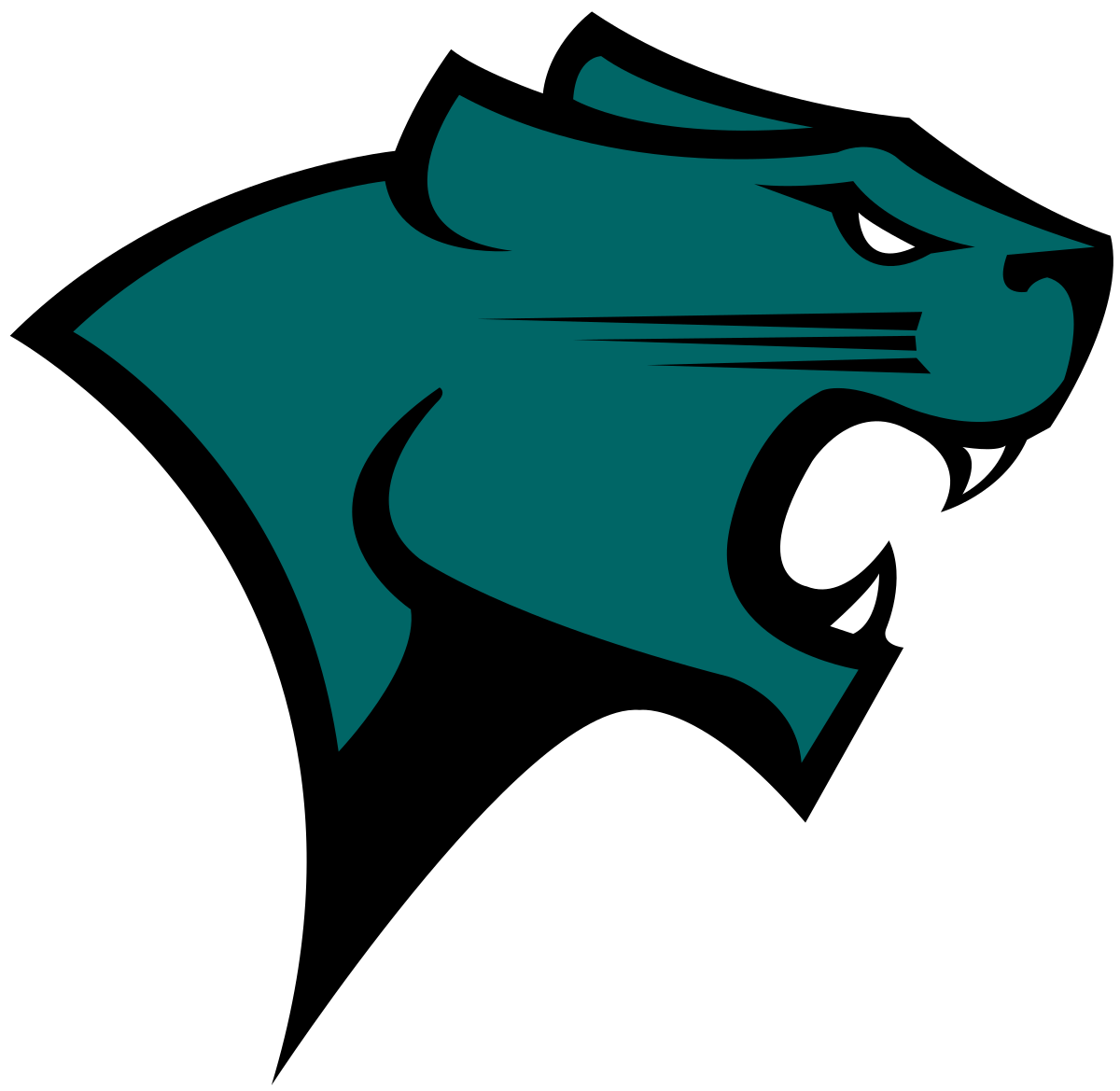 Wildcat clipart springfield. Chicago state cougars wikipedia