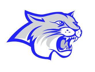 Athletics logo design contest. Wildcat clipart temple