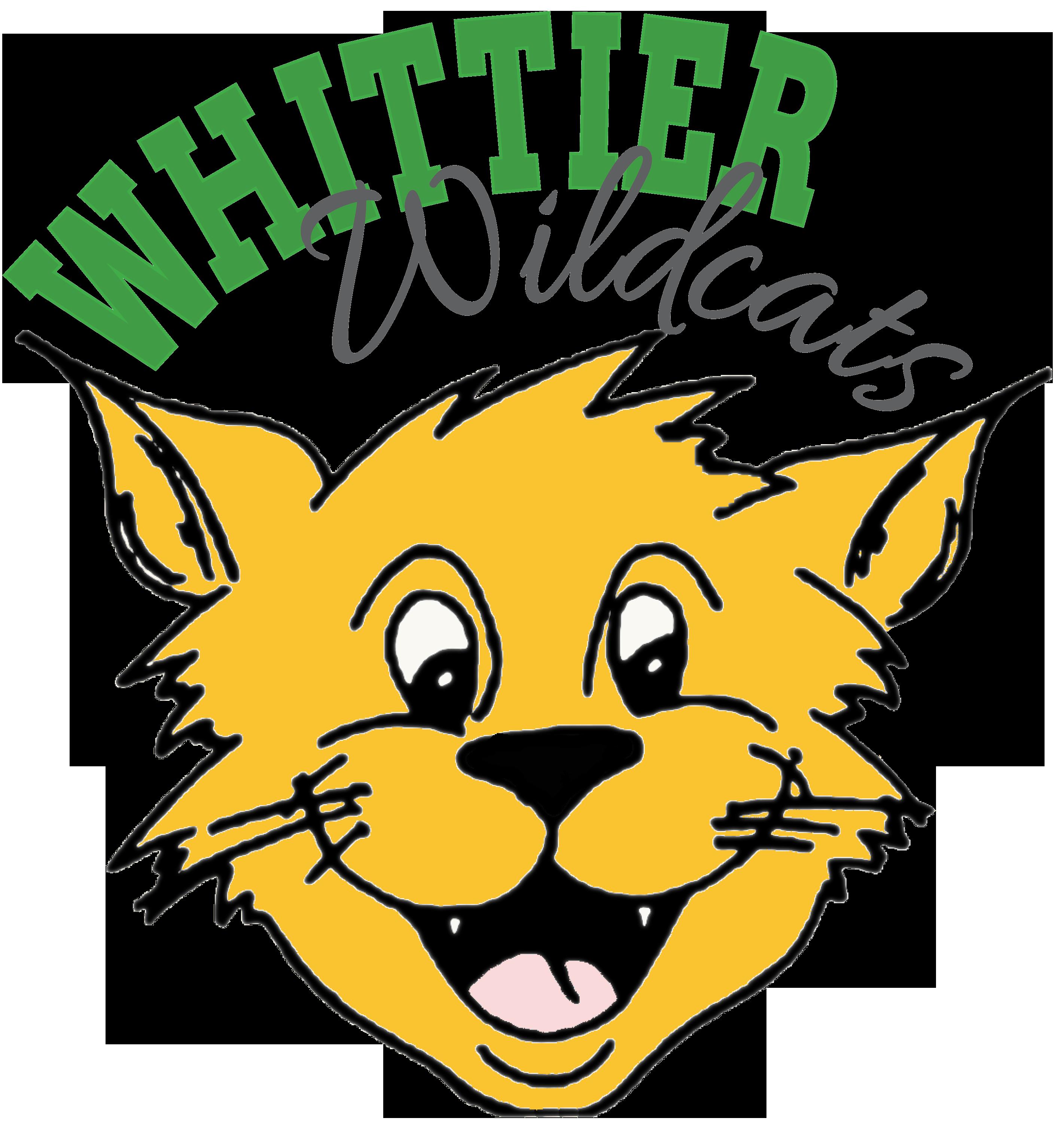 Wildcat clipart whitney. Whittier elementary school homepage